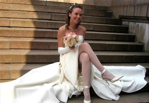 Невеста в колготках фото 134-174