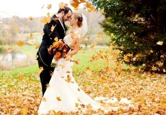 Особенности свадьбы осенью