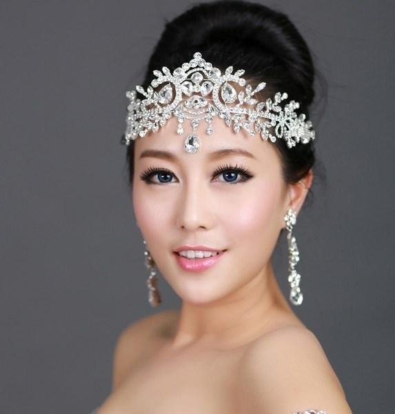 Свадебная прическа с диадемой своими руками