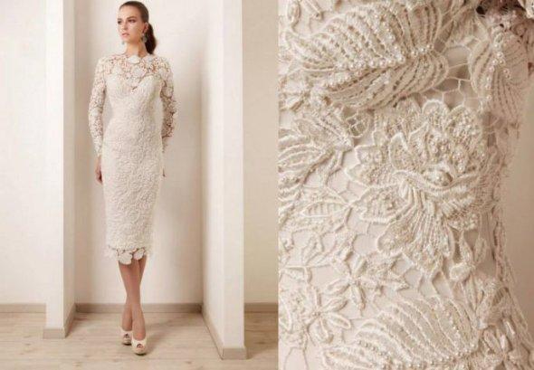 красивые вязаные платья 4