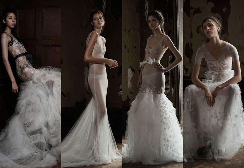 свадебная коллекция Vera Wang 2016 года