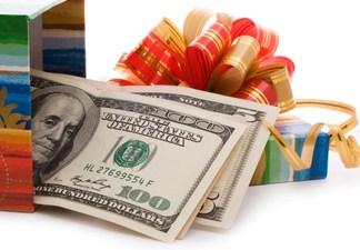 Семь идей вручения денег на свадьбе