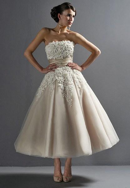 Свадебные платья в стиле 50-х