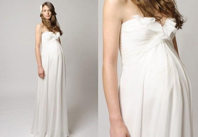 Платье для беременных в нижнем