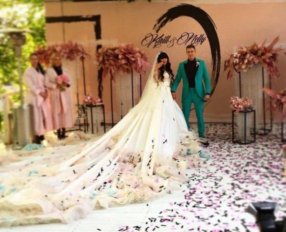 Ермолаева нелли в платье свадебном