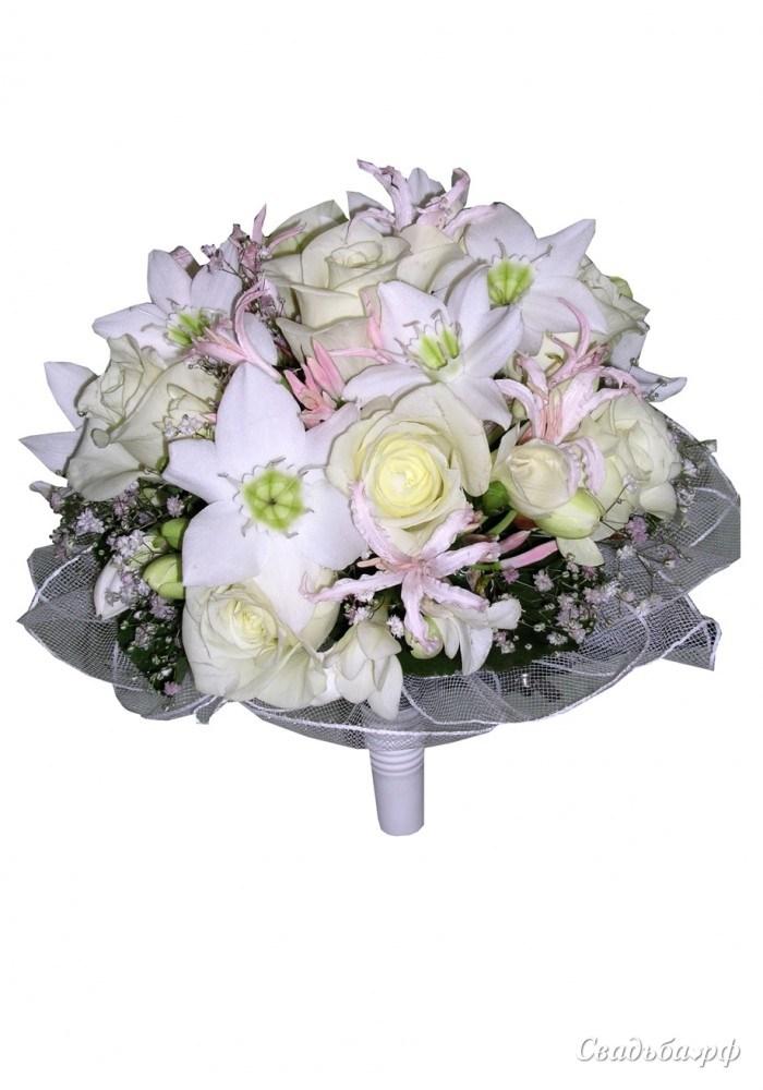 Калины, круглый букет невесты заказать киеве