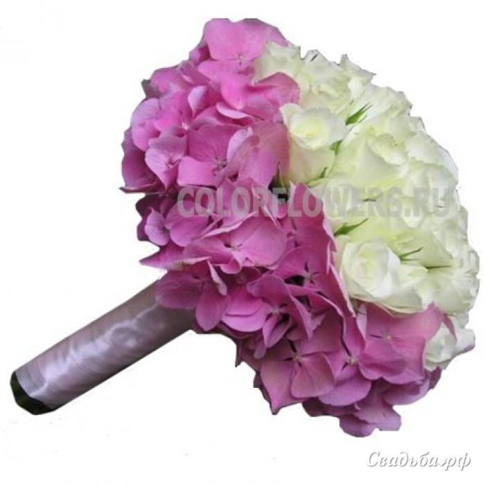 Экзотических цветов, букет невесты флоксов фото