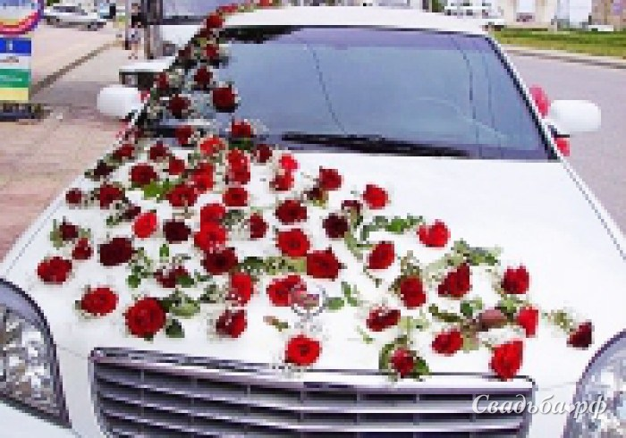 Машина невесты фото 8