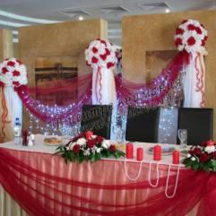 Украшение свадебного зала воронеж - Самые красивые и креативные украшения здесьq.