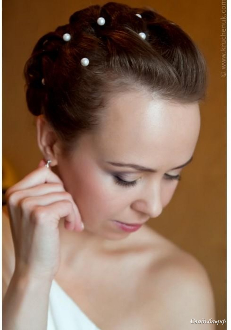 Прически на свадьбу приглашенным