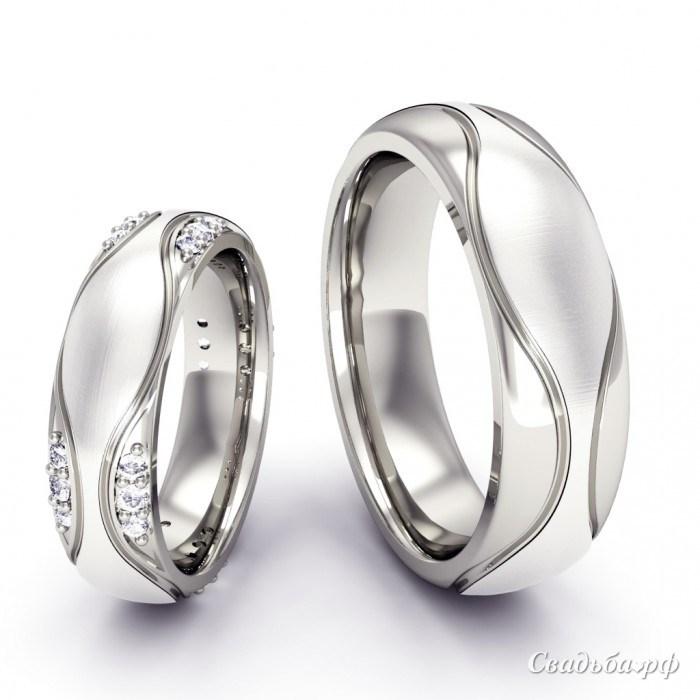 Эксклюзивные обручальные кольца фото 5