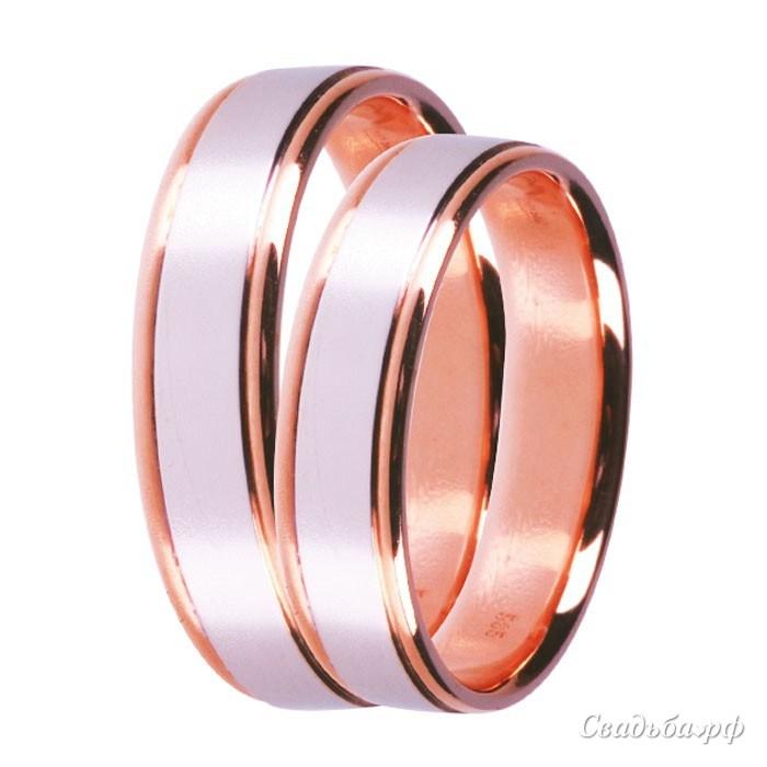 Купить обручальные кольца З488 (Италия, материал: комбинированное) - Сеть ювелирных салонов ЗЛАТОГРАД