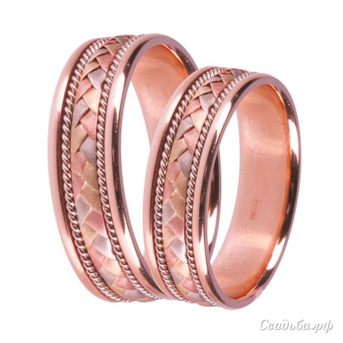 Купить обручальные кольца З489 (Италия, материал: комбинированное) - Сеть ювелирных салонов ЗЛАТОГРАД