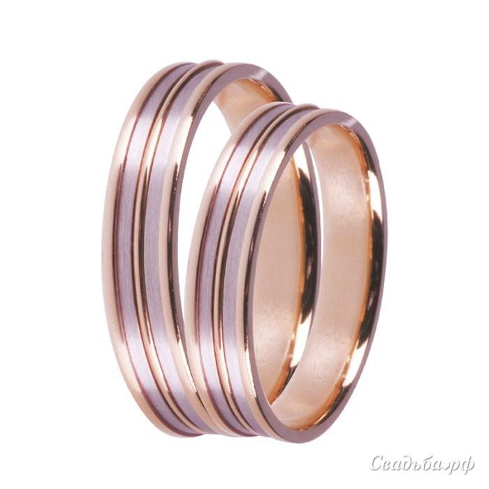 Купить обручальные кольца З494 (Италия, материал: комбинированное) - Сеть ювелирных салонов ЗЛАТОГРАД