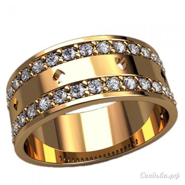 Обручальные кольца широкие фото 4