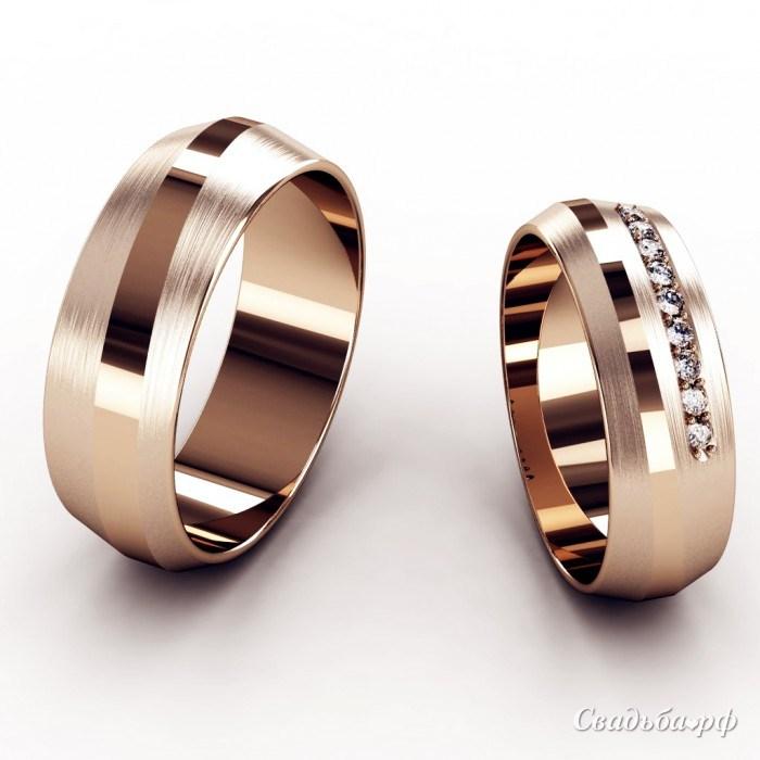 Обручальные кольца широкие фото 5