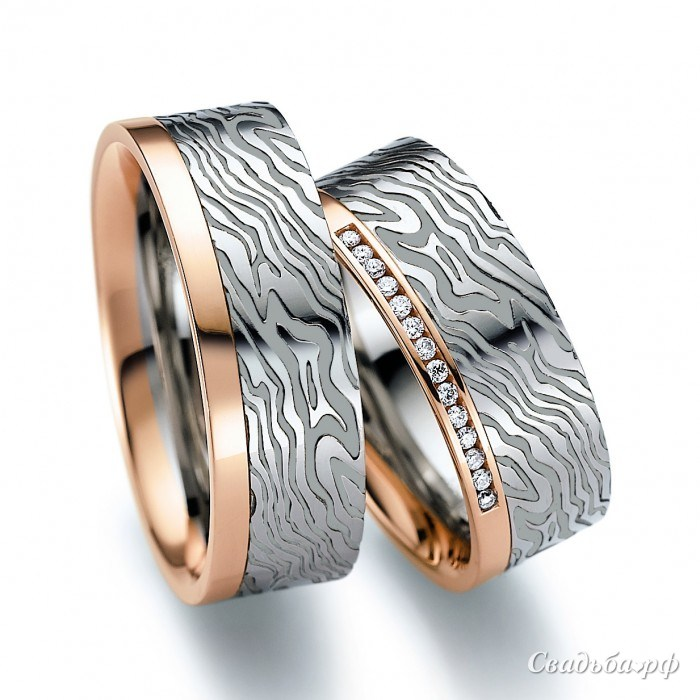 Мужские обручальные кольца фото 1