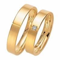 Золотой прайд кольца обручальные