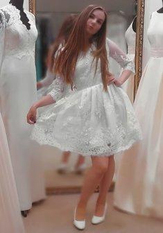 ad9807ef768feb3 Свадебные платья недорого в Москве - 226 фото. Купить недорогое свадебное  платье по цене от 980 руб.