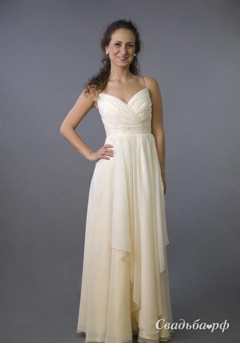 Купить свадебное платье 079-В073 (Россия, коллекция 2011, цвета: белый) - С
