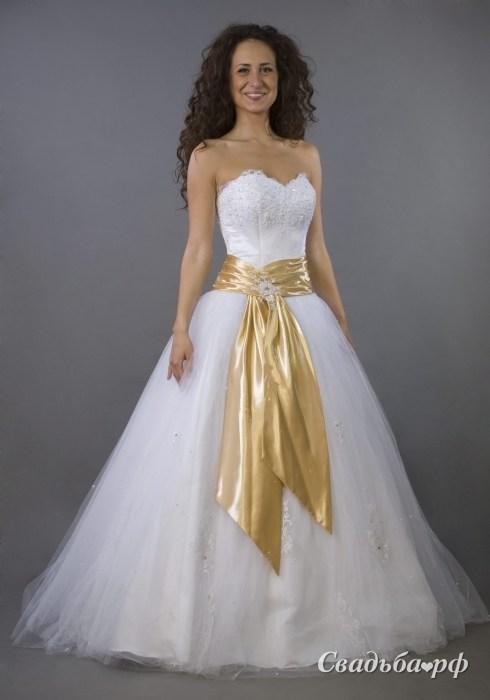 Купить свадебное платье 108-В107 (Россия, коллекция 2011, цвета: белый, роз