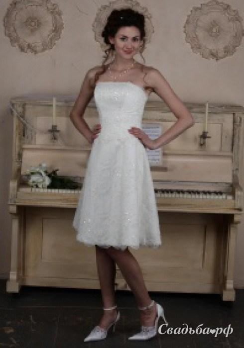 Купить свадебное платье Янина-К728 (Россия, цвета: кремовый