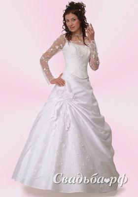 Купить свадебное платье Ариана-М715 (Италия, коллекция Vizavi, цвета: белый