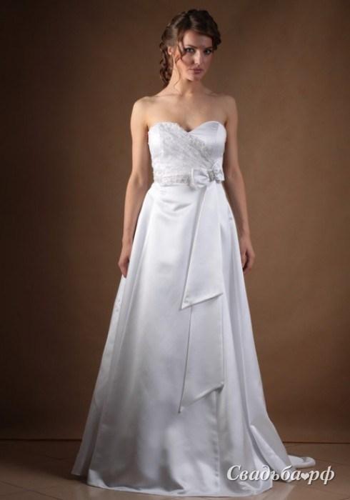 Алеся - Свадебные платья для будущих мам - Каталог - ГАЛЕНА - Фабрика свадебных платьев и