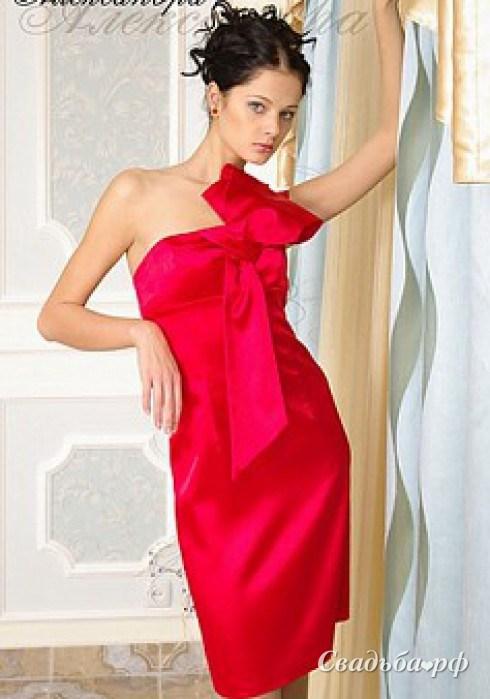 Вечернее платье по фигуре 8