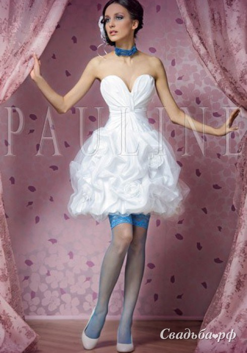 купить короткое свадебное платье