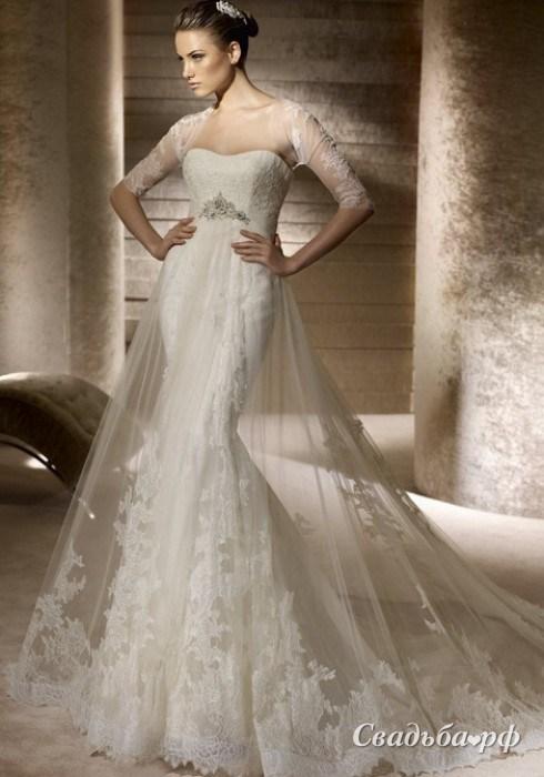 Красивые свадебные платья 2014 фото 1