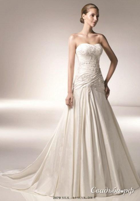 Купить свадебное платье 2079-1-Д464 (Benjamin Roberts, цвета