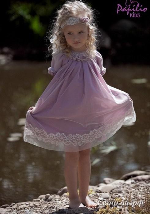 Детская мода платья для девочек 7