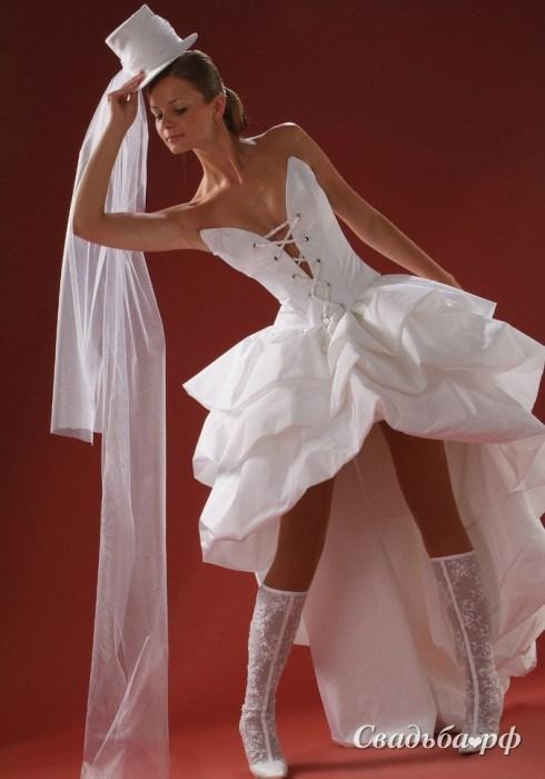Креативные свадебные платья фото 7
