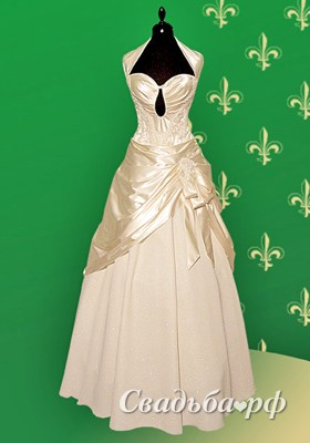 Свадебное платье Калифорния айвори-I967. Коллекция Татьяна Иваненко