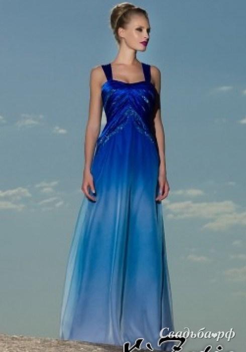 Комментарий: Купить вечернее платье К947 (цвета: синий) - Свадебный салон Кружева