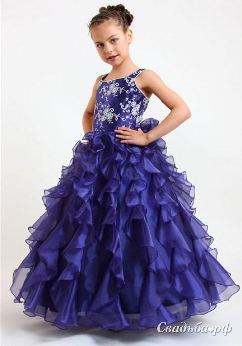 Детские бальные платья для девочек 3