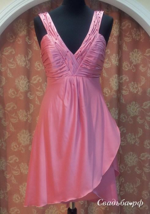 Купить вечернее платье V377 (Белоруссия, цвета: розовый) - Свадебный салон Viзаvi