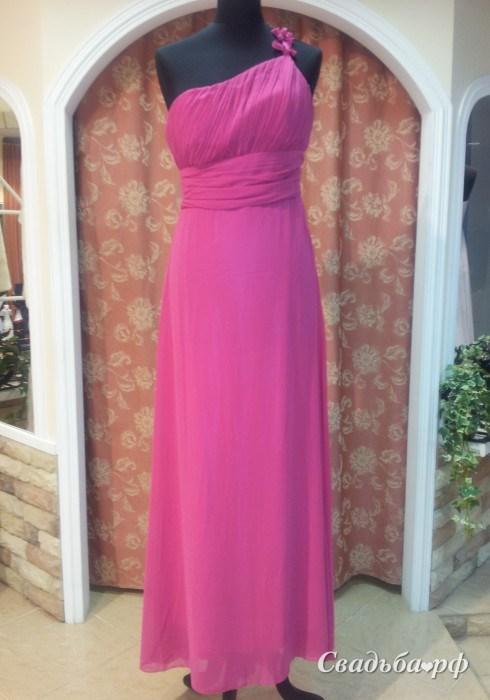 Купить вечернее платье V385 (цвета: розовый) - Свадебный салон Viзаvi