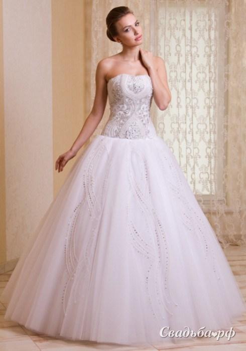 Купить свадебное платье Аметист-S355 (коллекция лето 2014, цвета