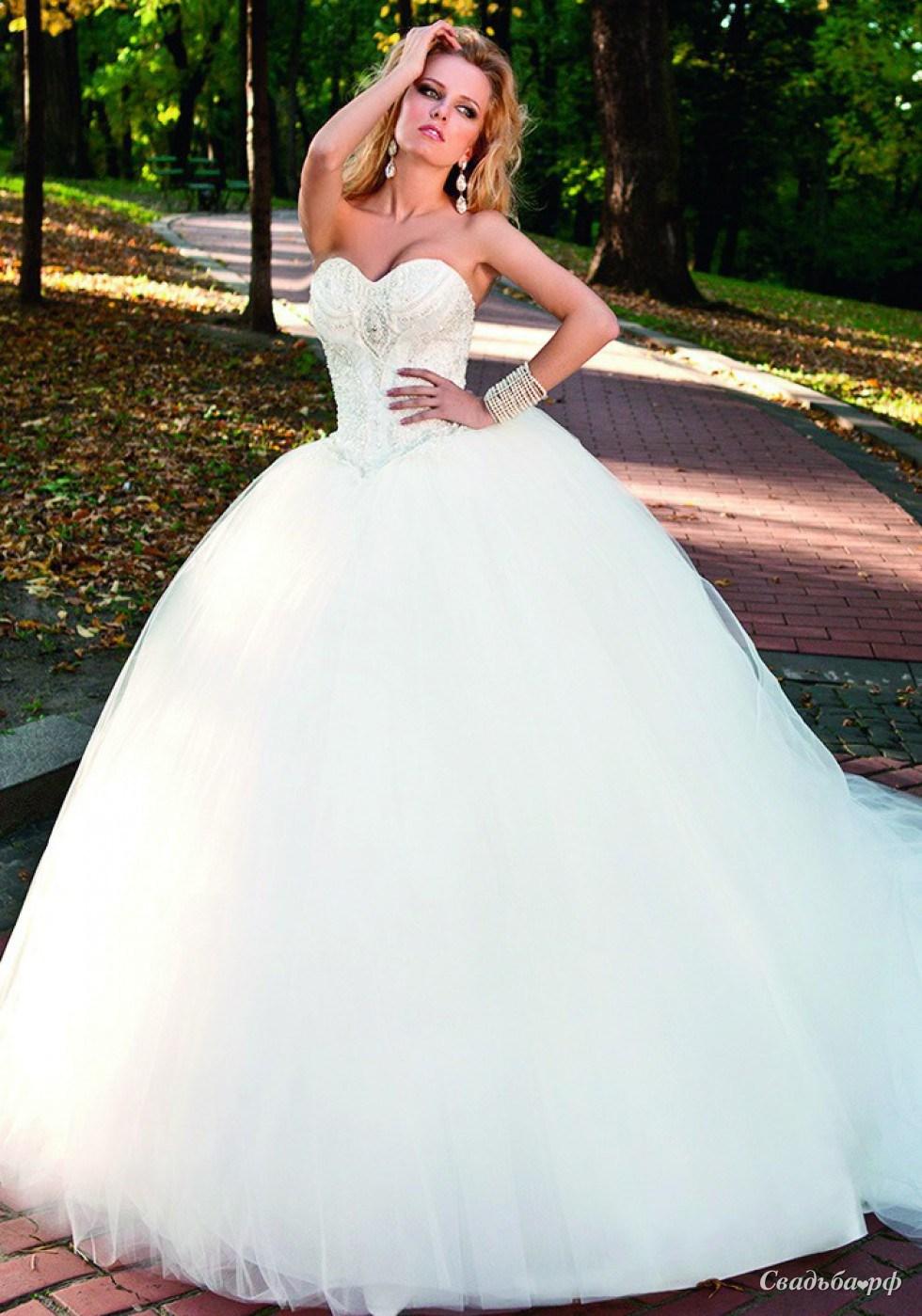 Купить свадебное платье Соната-С43354 (Украина, Оксана Муха ...