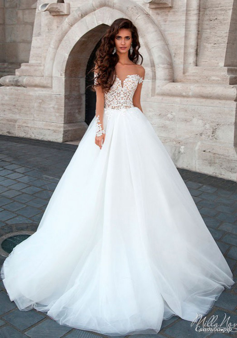 0a122ae218c Купить свадебное платье Marsela-А678 (Италия
