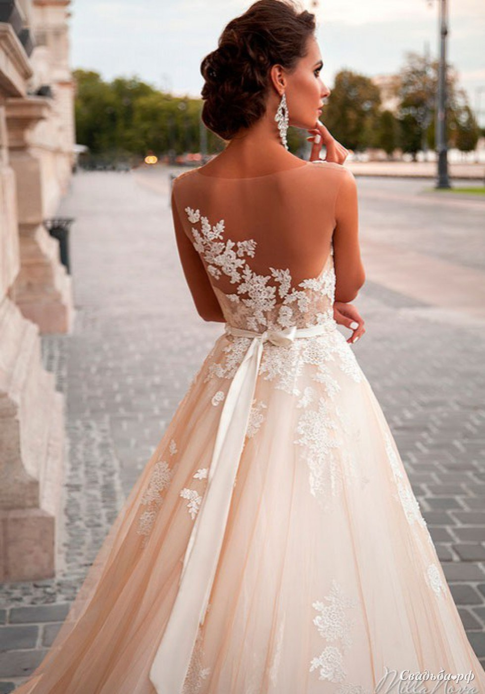 5d35a00fdf9 Купить свадебное платье Jeneva-А679 (Италия