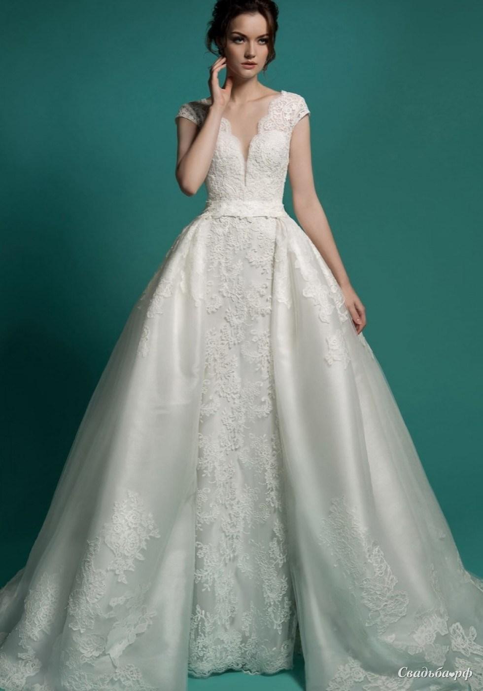 2cc1f9312ff Купить свадебное платье Линетта 2-Л662 (Gabbiano
