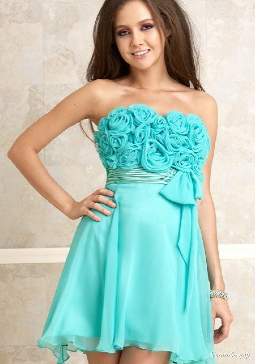как красиво завязать пояс на платье