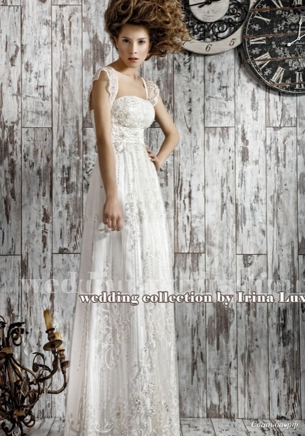 16bdb01c08fa8b2 Купить свадебное платье Веста-О899 (Ирина Люкс, цвета: белый, ткань: мягкий  атлас, кружево.) - Свадебный салон Очарование