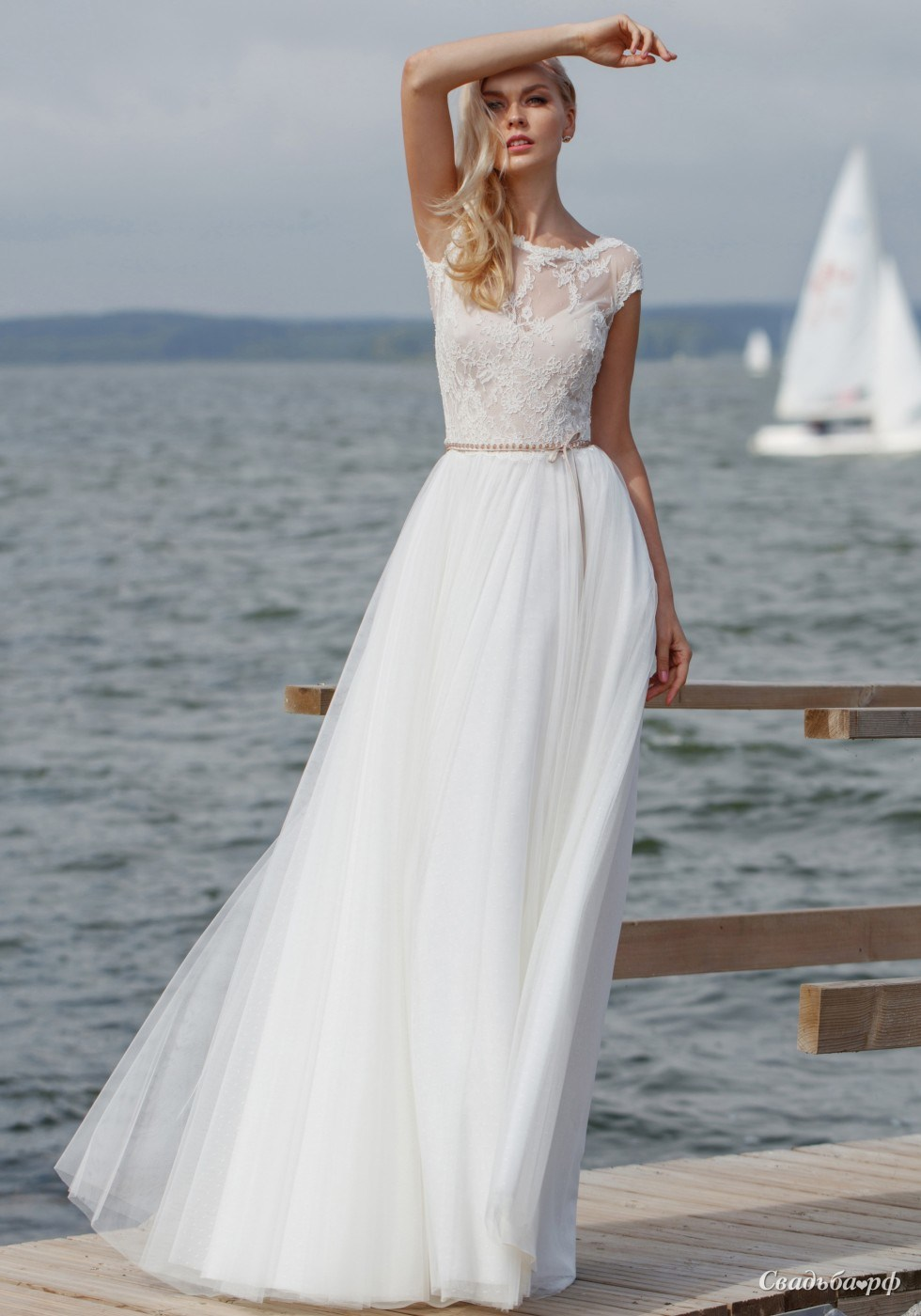 наносится легкие летящие свадебные платья фото поворачиваем