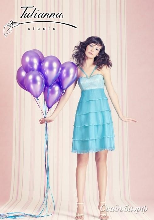 7 000руб.  Вечернее платье в романтическом стиле, на корсете.