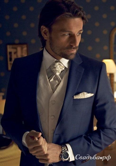 Купить свадебный мужской костюм Ceremony 1-C395 (Швеция, фасон: классический однобортный, итальянский крой) - Салон мужской одежды Cavaliere