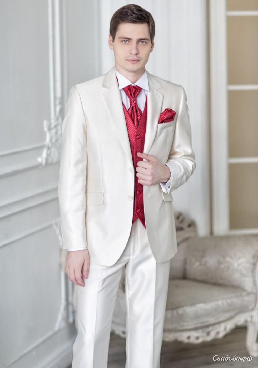 Костюмы мужские свадебные фото
